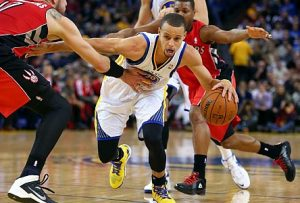 Can Stephen Curry and the Warriors knock out the bigger, faster Thunder? Credit: Christopher Chung / Press Democrat