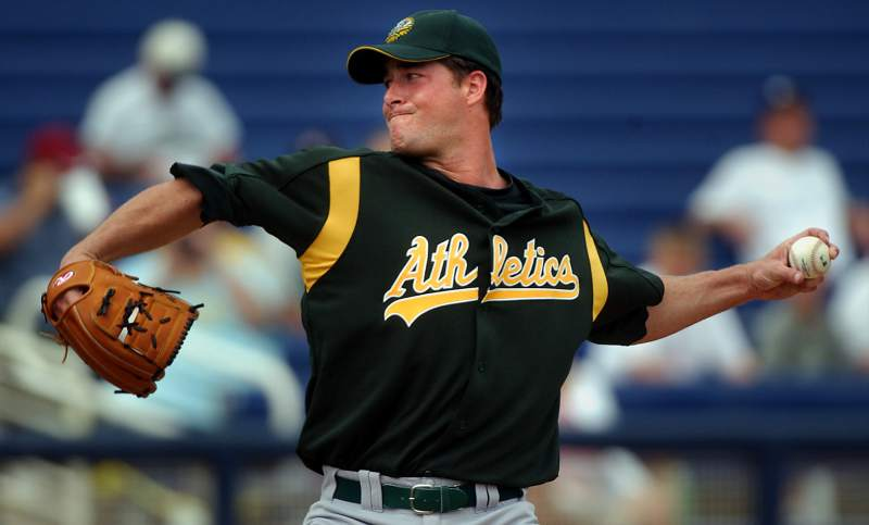From Mulder to Jake Sanchez, A's door keeps revolving