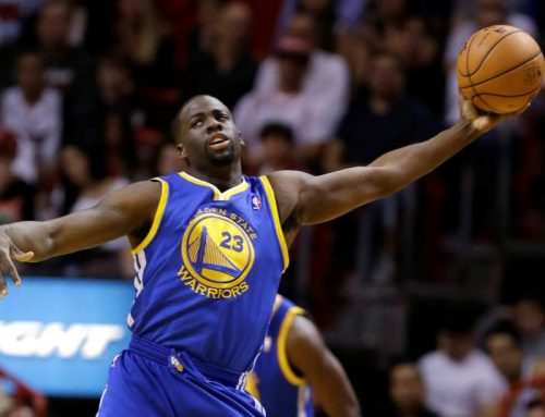 Draymond's secret? 'He's always wide open.'